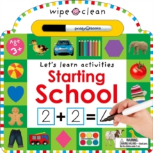 Starting School : Wipe Clean Workbooks, Board book Book