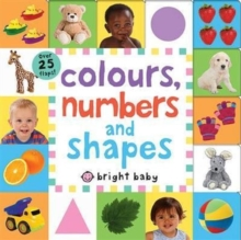Colours, Numbers and Shapes, Board book Book