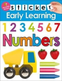 Numbers : Sticker Early learning, Paperback / softback Book
