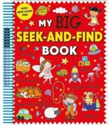 My Big Seek and Find Book, Spiral bound Book