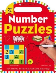 Number Puzzles : Priddy Learning, Paperback Book