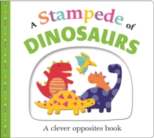 A Stampede of Dinosaurs : Picture Fit, Board book Book