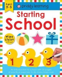 Starting School : Wipe Clean Workbooks, Paperback Book