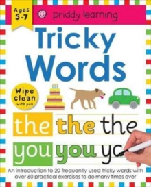 Tricky Words : Wipe Clean Workbooks, Paperback Book