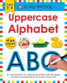 Uppercase Alphabet : Wipe Clean Workbooks, Paperback Book