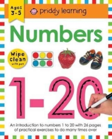 Numbers 1-20 : Wipe Clean Workbooks, Paperback Book