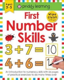 First Number Skills : Wipe Clean Workbooks, Paperback Book