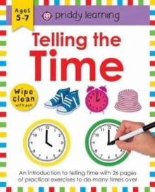 Telling the Time : Wipe Clean Workbooks, Paperback / softback Book
