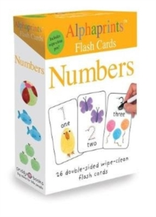 Alphaprints Flash Cards Numbers, Cards Book