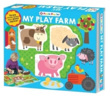 Farm Puzzle Playset, Hardback Book