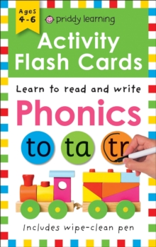 Activity Flash Cards Phonics, Paperback Book