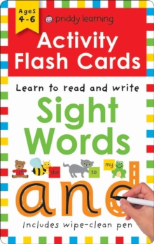 Activity Flash Cards Sight Words, Paperback / softback Book
