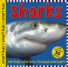 Smart Kids Sticker Sharks, Paperback Book