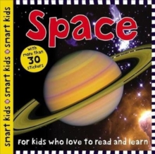 Smart Kids Sticker Space, Paperback Book