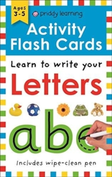 Activity Flash Cards Letters, Paperback / softback Book