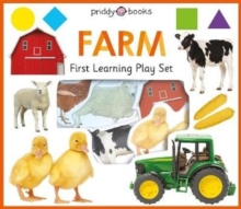 First Learning Farm Play Set, Board book Book