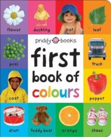 First Book of Colours (Large Ed), Hardback Book