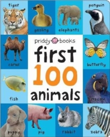 First 100 Soft To Touch Animals (Large Ed), Hardback Book