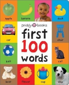 First 100 Soft To Touch Words (Large Ed), Hardback Book