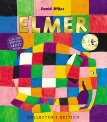 Elmer : 30th Anniversary Collector's Edition with Limited Edition Print, Hardback Book