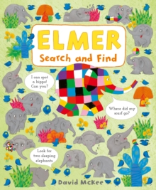 Elmer Search and Find, Board book Book