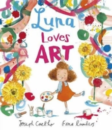 Luna Loves Art, Hardback Book