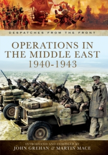 Operations in North Africa and the Middle East 1939-1942, Hardback Book