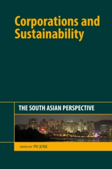 Corporations and Sustainability : The South Asian Perspective, Hardback Book