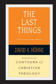 The Last Things, Paperback / softback Book