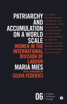 Patriarchy and Accumulation on a World Scale : Women in the International Division of Labour, Paperback / softback Book