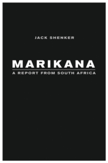 Marikana : A Report from South Africa, EPUB eBook