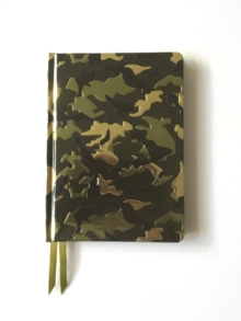 Camouflage (Contemporary Foiled Journal), Hardback Book