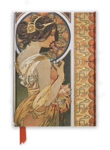 Mucha: Cowslip and Documents Decoratifs (Foiled Journal), Hardback Book
