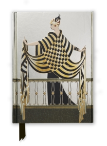 Erte: The Balcony (Foiled Journal), Hardback Book
