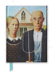 Grant Wood: American Gothic (Foiled Journal), Hardback Book