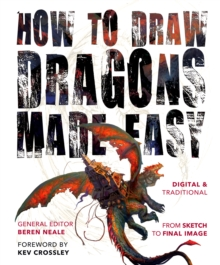 How to Draw Dragons Made Easy, Paperback Book