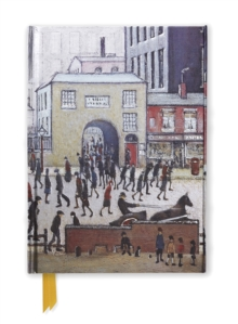 L. S. Lowry: Coming from the Mill (Foiled Journal), Notebook / blank book Book