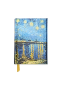 Van Gogh: Starry Night over the Rhone (Foiled Pocket Journal), Notebook / blank book Book