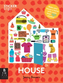 Sticker Style: House, Paperback / softback Book