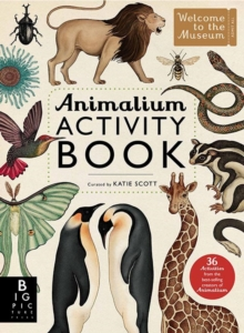 Animalium Activity Book, Paperback Book