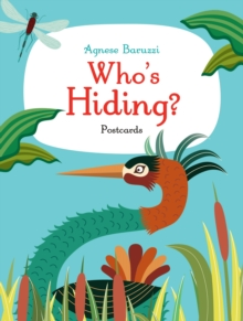 Who's Hiding? Postcards, Paperback Book
