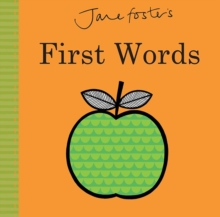 Jane Foster's First Words, Hardback Book