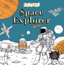 Pictura Puzzles: Space Explorer, Paperback Book