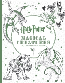 Harry Potter Magical Creatures Colouring Book, Paperback / softback Book
