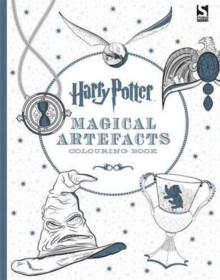 Harry Potter Magical Artefacts Colouring Book 4, Paperback / softback Book