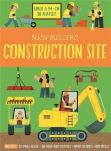 Busy Builders Construction Site, Hardback Book