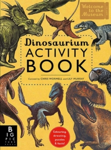 Dinosaurium Activity Book, Paperback / softback Book