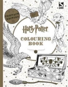 Harry Potter Colouring Book Compact Edition, Paperback Book