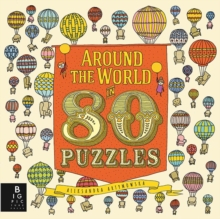 Around the World in 80 Puzzles, Hardback Book