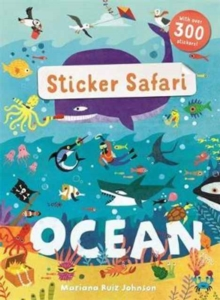 Sticker Safari: Ocean, Paperback Book